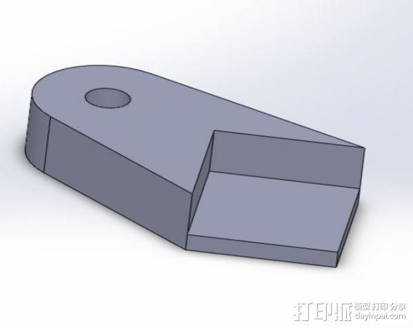 格拉斯夹 3D模型  图1