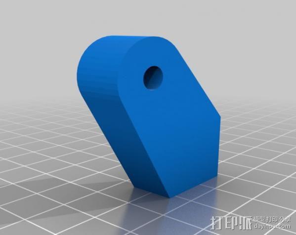 格拉斯夹 3D模型  图2