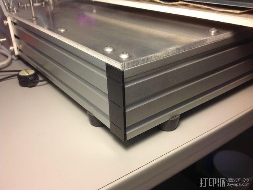 边角覆盖板 3D模型  图1