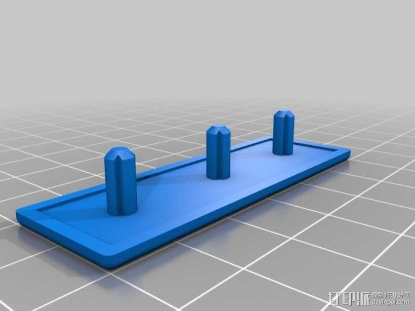 边角覆盖板 3D模型  图2