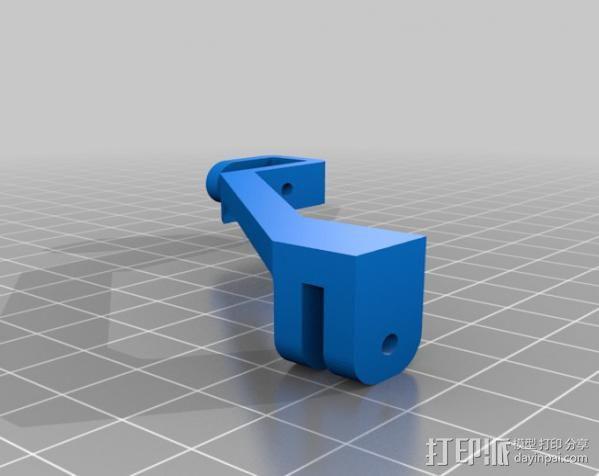 多用挂钩 3D模型  图2