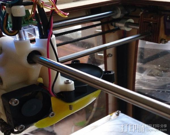 E3D加热板适配器 3D模型  图5