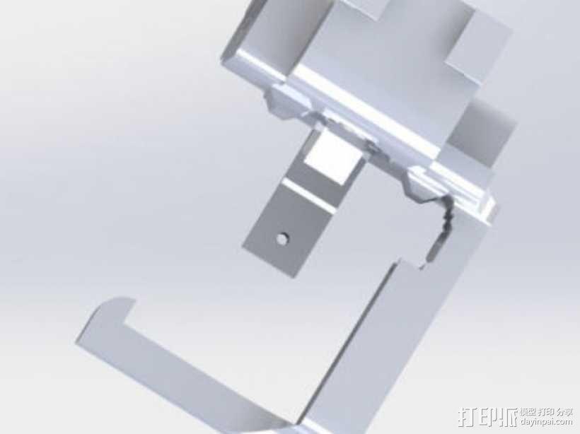 迷你挂载 3D模型  图3