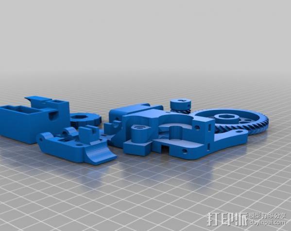 i3 模板升级 3D模型  图3
