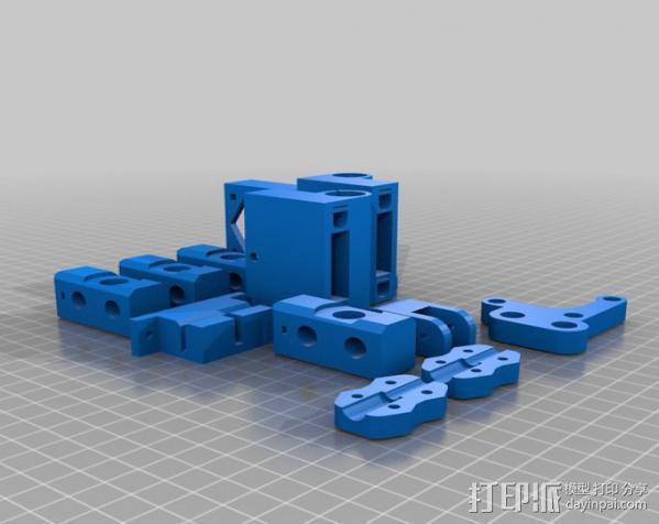 i3 模板升级 3D模型  图5