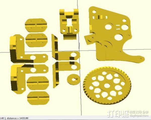 i3 模板升级 3D模型  图8
