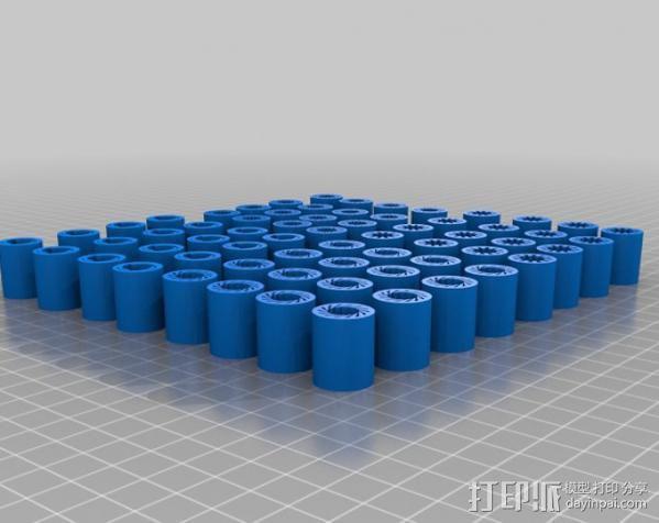 i3 模板升级 3D模型  图6