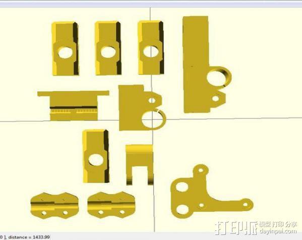 i3 模板升级 3D模型  图7
