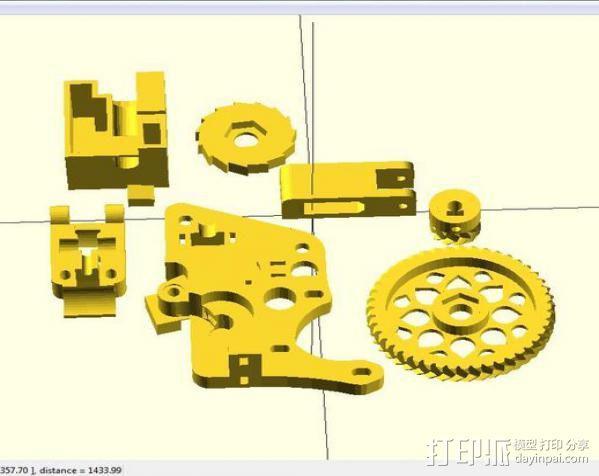 i3 模板升级 3D模型  图9