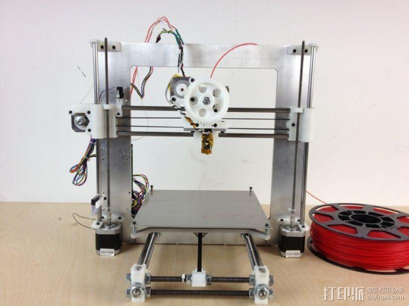 i3 X-Endstop适配器 3D模型  图4
