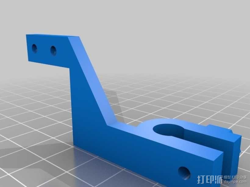 i3 X-Endstop适配器 3D模型  图2