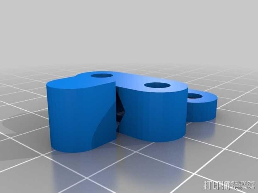 X轴拉紧器 3D模型  图1