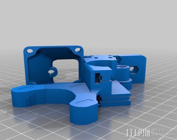 挤出器 3D模型  图3