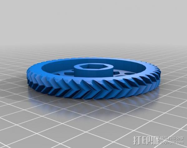 挤出器 3D模型  图9