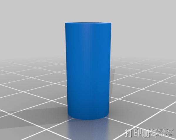 RepRapPro 适配器 3D模型  图6