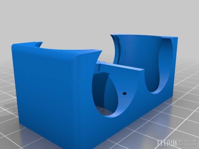 风机管 3D模型  图2