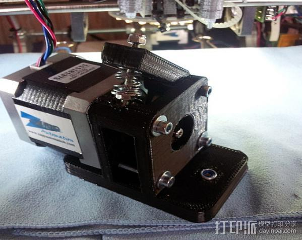 Byteborg驱动器 3D模型  图1