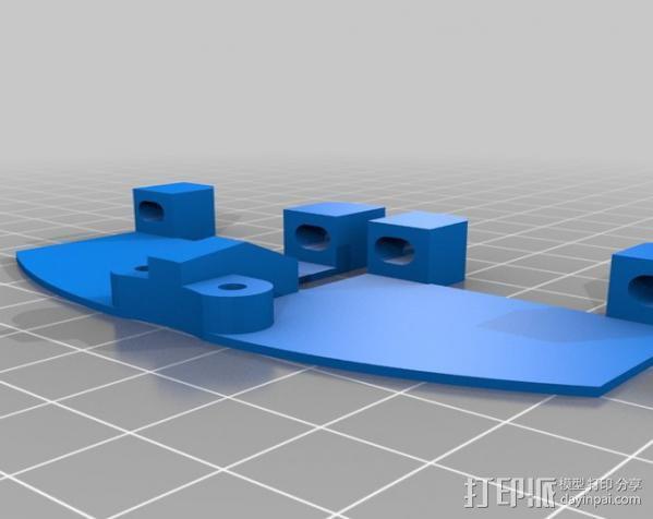 冷风扇 3D模型  图3