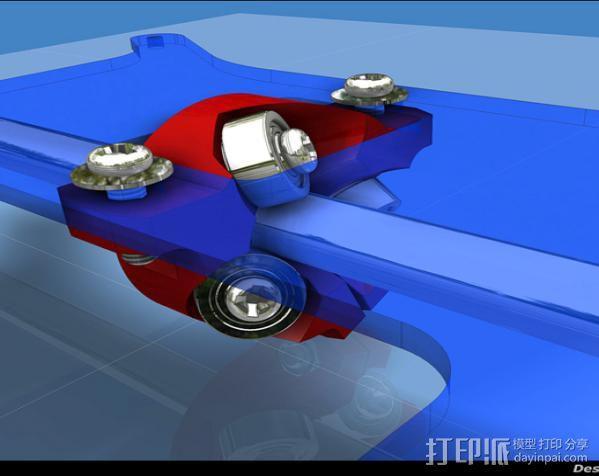 滚轴适配器 3D模型  图4