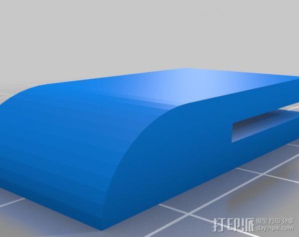 打印机外壳 3D模型  图2