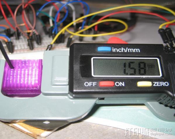 灯丝测量仪 3D模型  图1