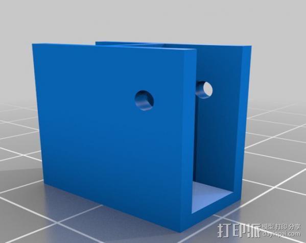 灯丝测量仪 3D模型  图4