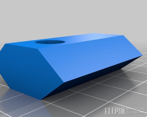 灯丝矫正器 3D模型  图2