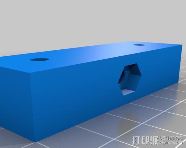 灯丝矫正器 3D模型  图3