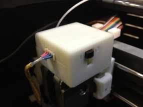 挤出器适配器 3D模型