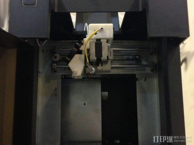 挤出器适配器 3D模型  图11