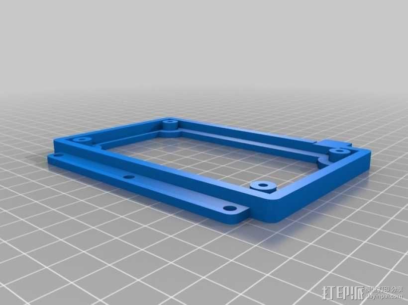 加热板底座 3D模型  图1