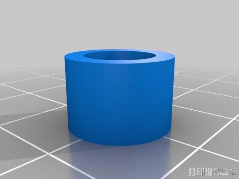 X轴拉紧器 3D模型  图3