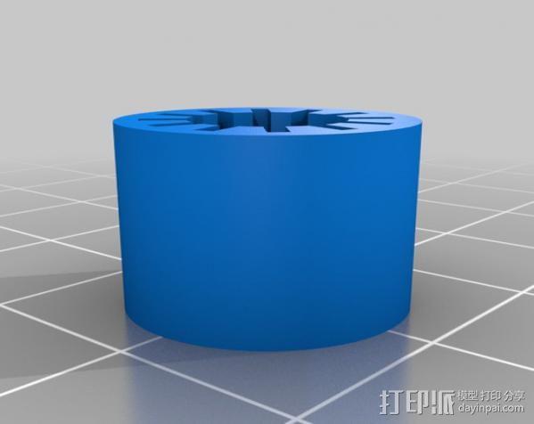 参数线性轴承 3D模型  图2