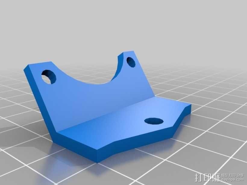 冷却风扇框架 3D模型  图1