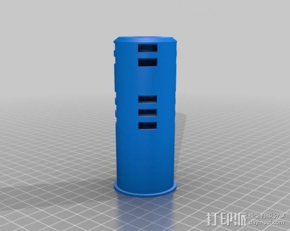 移动轴夹 3D模型  图11