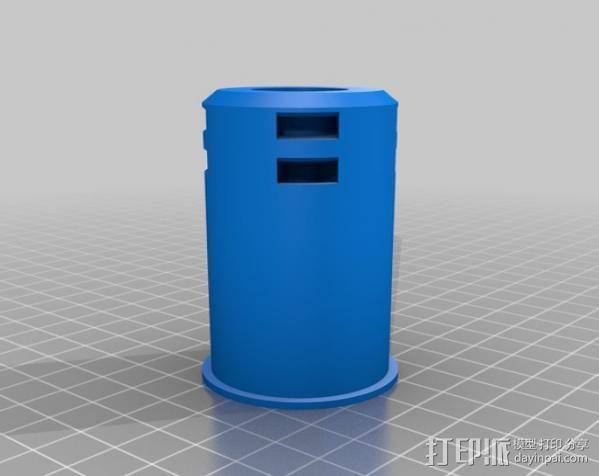 移动轴夹 3D模型  图12