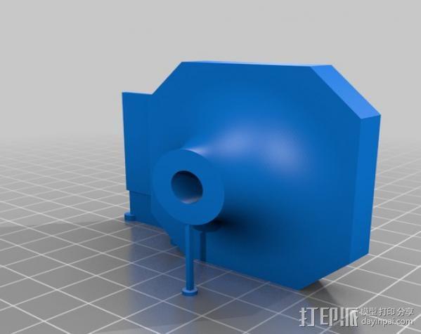 移动轴夹 3D模型  图13
