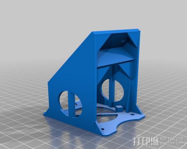 EZstruder适配器 3D模型  图3