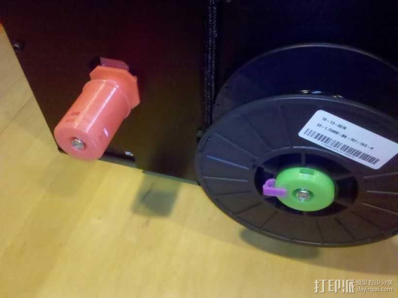 50mm旋转轴夹 3D模型  图1