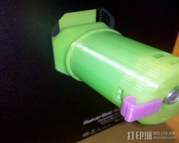 50mm旋转轴夹 3D模型  图6