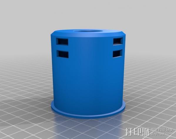 50mm旋转轴夹 3D模型  图9