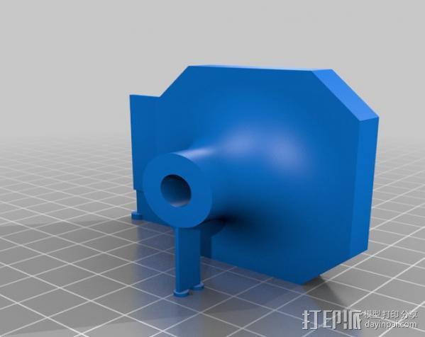 50mm旋转轴夹 3D模型  图10