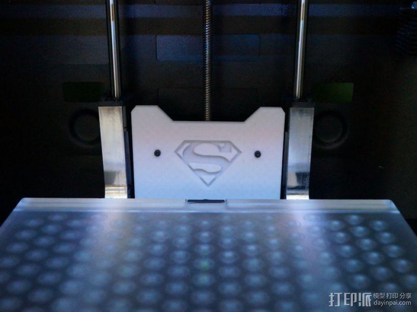 超人LOGO 3D模型  图1