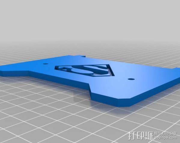 超人LOGO 3D模型  图2
