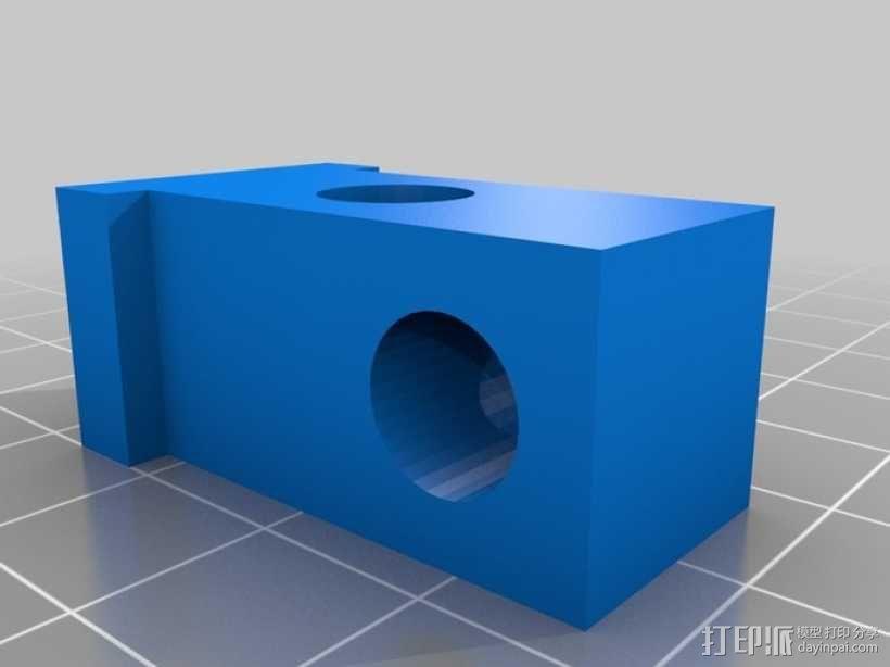 卷线轴 支架 3D模型  图2
