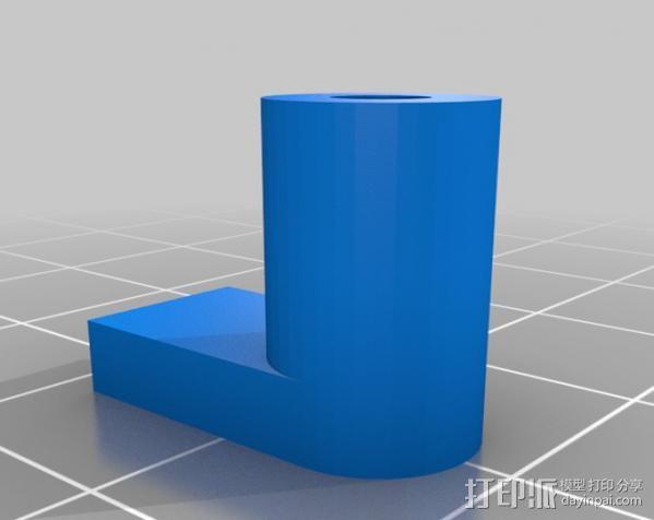 迷你Kossl边夹 3D模型  图2