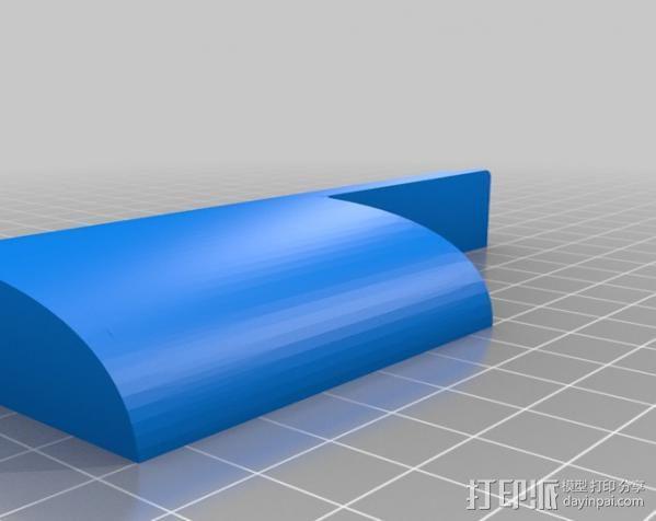 孔塞· 3D模型  图2