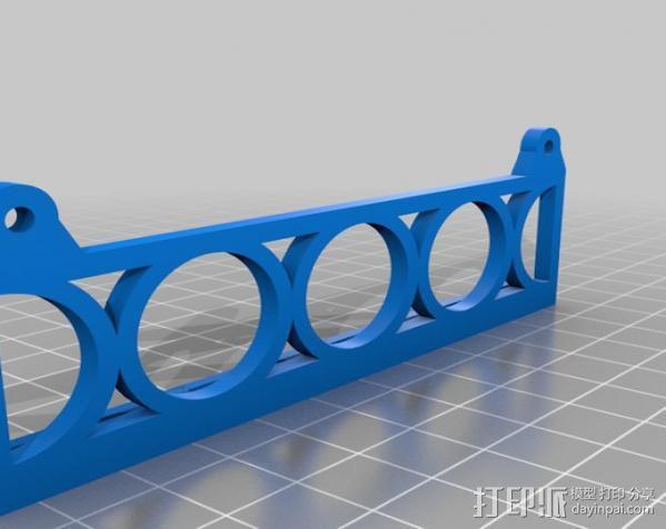 轴座 3D模型  图2