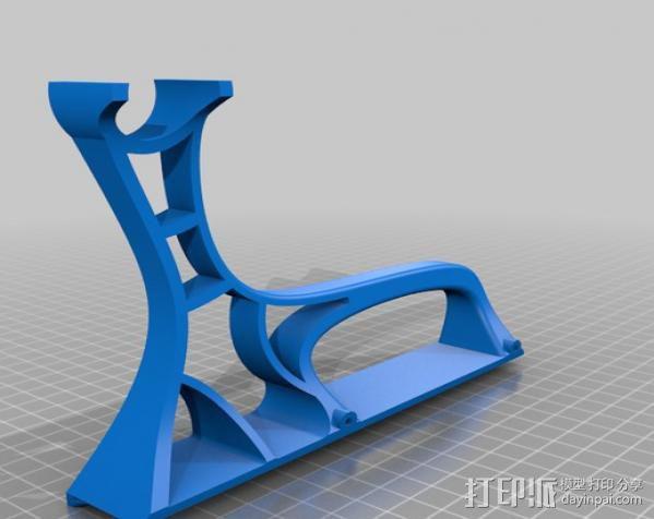 轴座 3D模型  图4