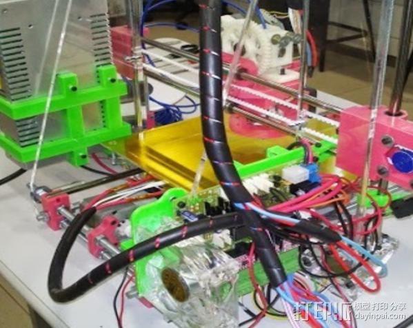 电源支架 3D模型  图4
